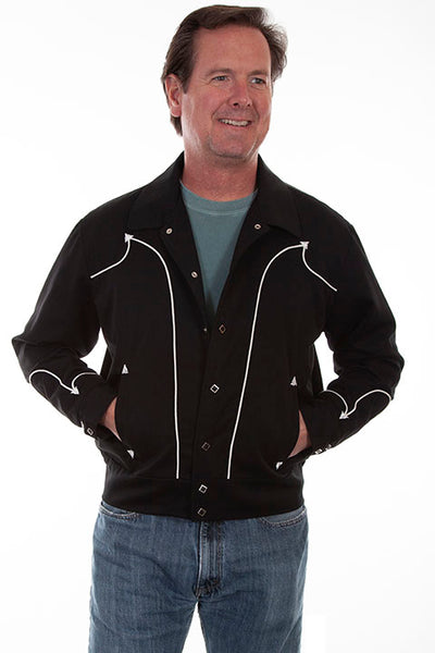 Scully Men's Western Bolero Rodeo Jacket Front