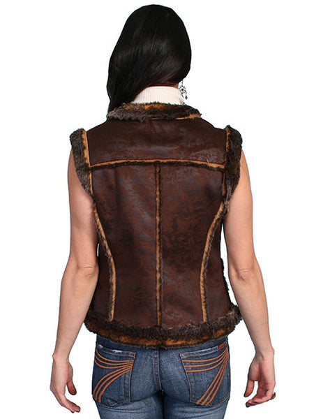 Women's Honey Creek Outerwear Collection: Faux Fur Vest, Shearling, Faux Leather