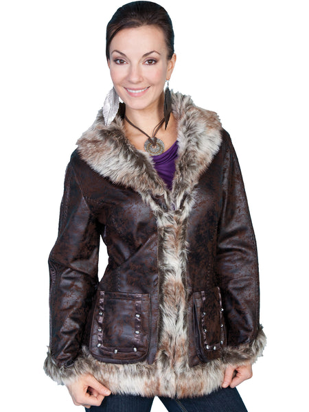 Women's Honey Creek Outerwear Collection: Faux Fur Jacket, Shearling