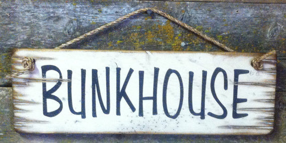 Western Wall Sign Barn: Bunkhouse
