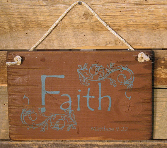 Western Wall Sign: Faith