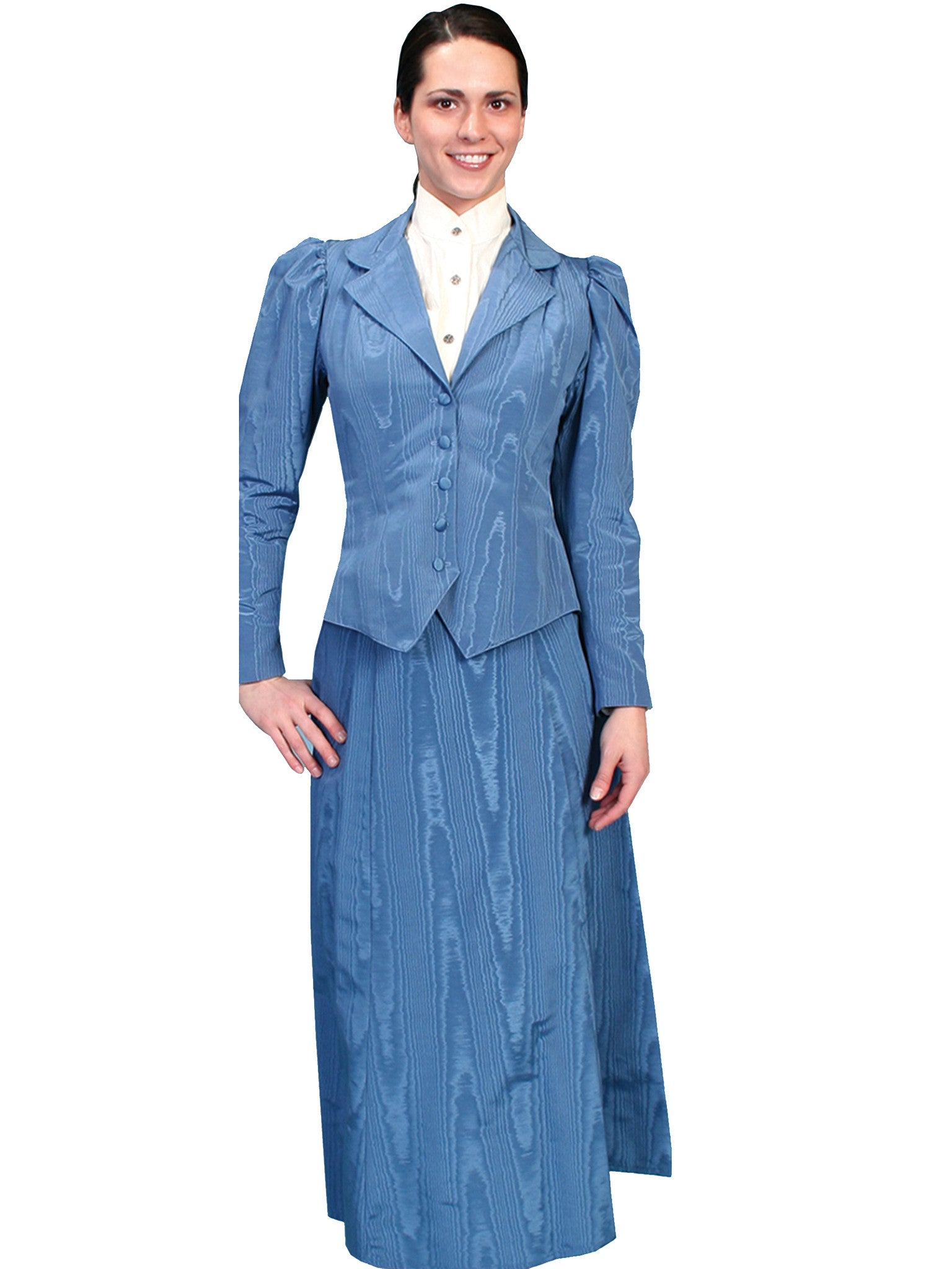 Old West Collection Skirt: Wahmaker Five Gore Moire Walking Skirt ...