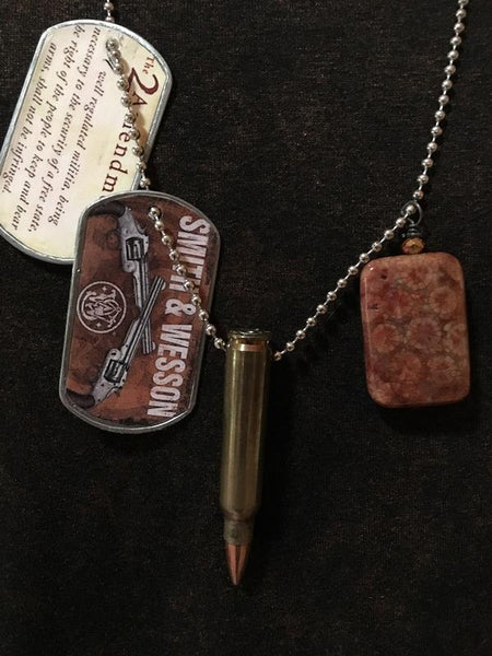 Dog Tag Necklace Smith and Wesson