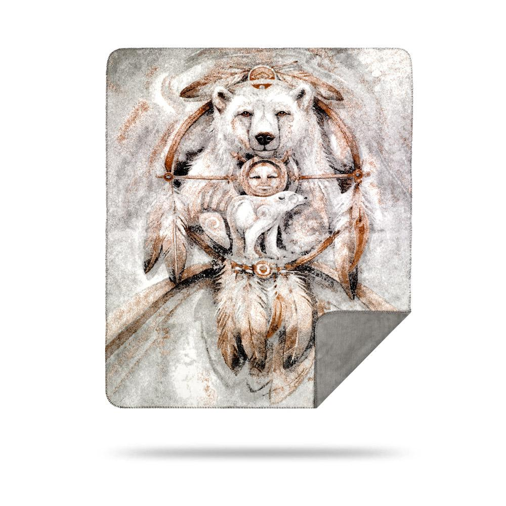 Denali Blanket Spirit Bear