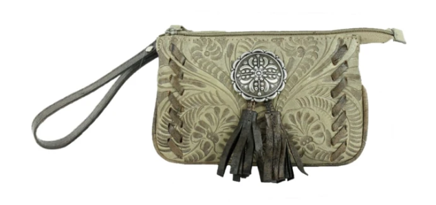 American West Lariats & Lace Collection Stadium Event Bag Sand