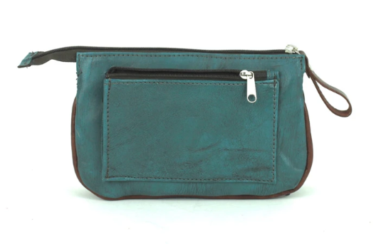 American West Lariats & Lace Collection Stadium Event Bag Turquoise Back