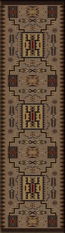 American Dakota Voices Collection Storm Catcher Runner Rugs