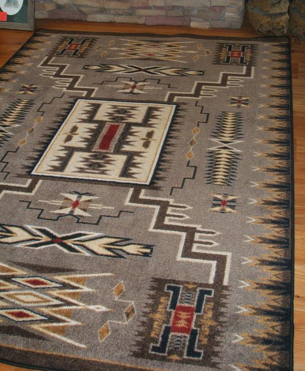 American Dakota Voices Collection Storm Catcher Rectangle Area Rugs