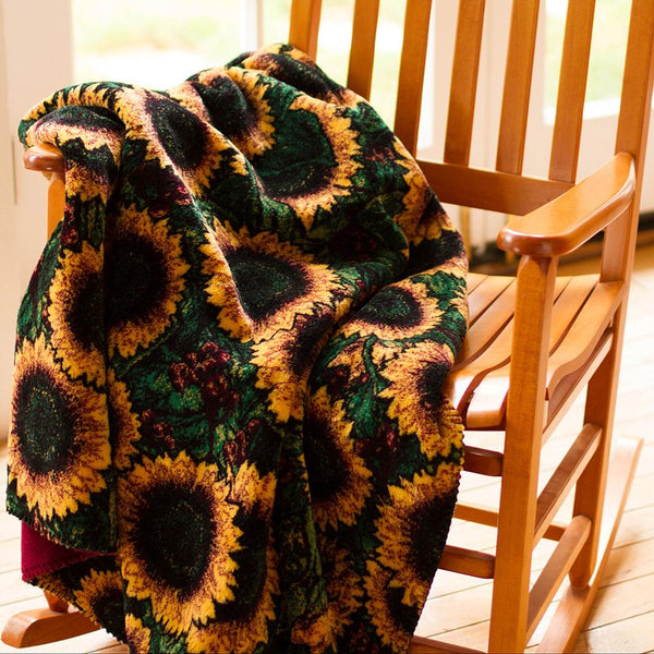 Denali Blanket Sunflowers
