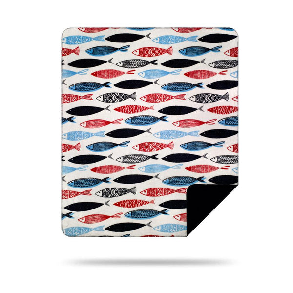 Denali Swimming Upstream Blanket 60x72