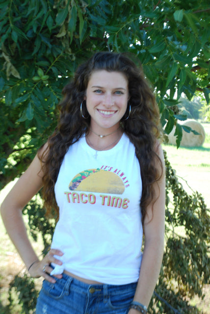 Original Cowgirl Clothing Ladies' Tank Taco Time