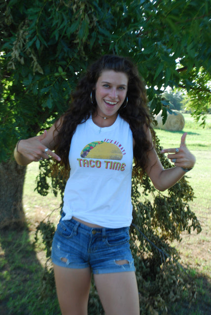 Original Cowgirl Clothing T-Shirts: Tank Taco Time