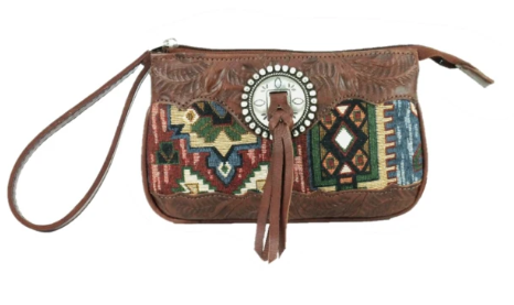 American West Bella Beau Tapestry Stadium Event Bag Front