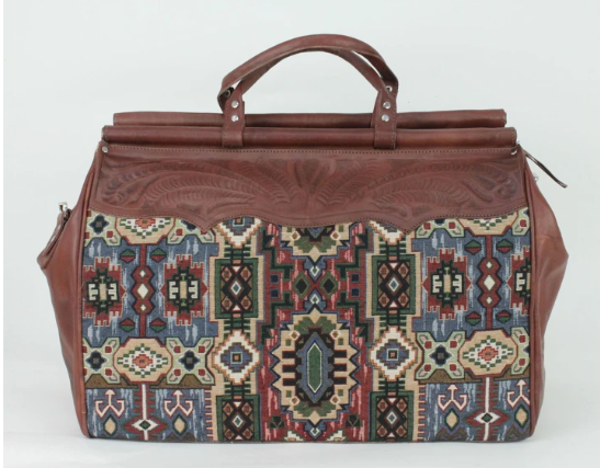 American West Bella Beau Collection Duffle Bag Back