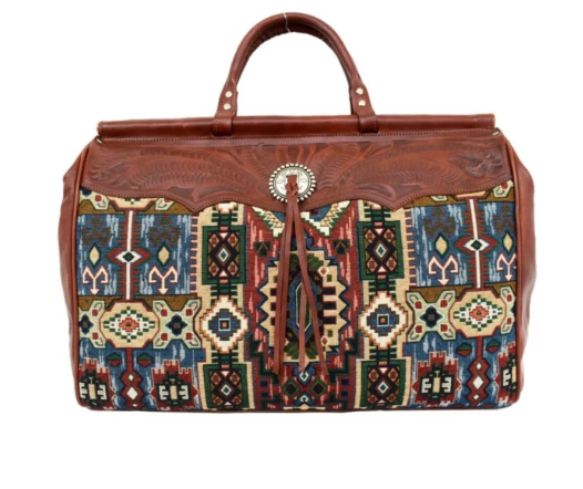 American West Bella Beau Collection Duffle Bag Front
