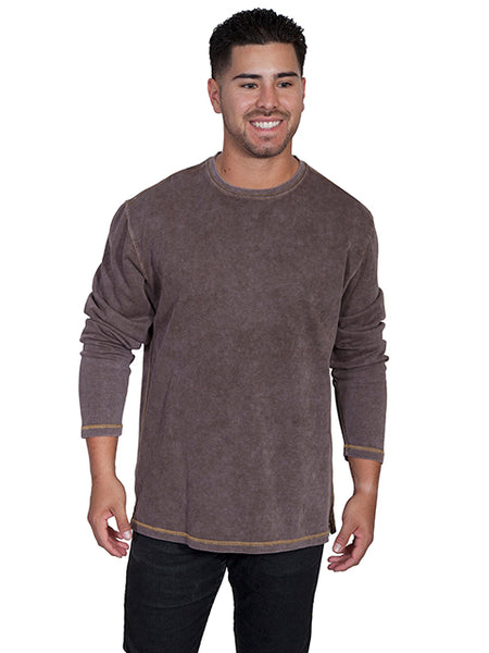 Farthest Point Collecton Ribbed Knit Bark Front