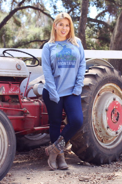 Original Cowgirl Clothing T-Shirts: Thermal Montana