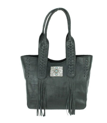 American West Mohave Canyon Small Tote Black
