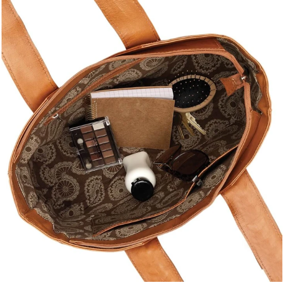 American West Mohave Canyon Small Tote Interior