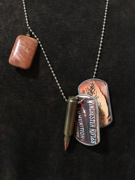 We The People Dog Tag Necklace