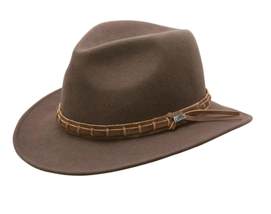 Conner Handmade Hats Wide Open Spaces Brown