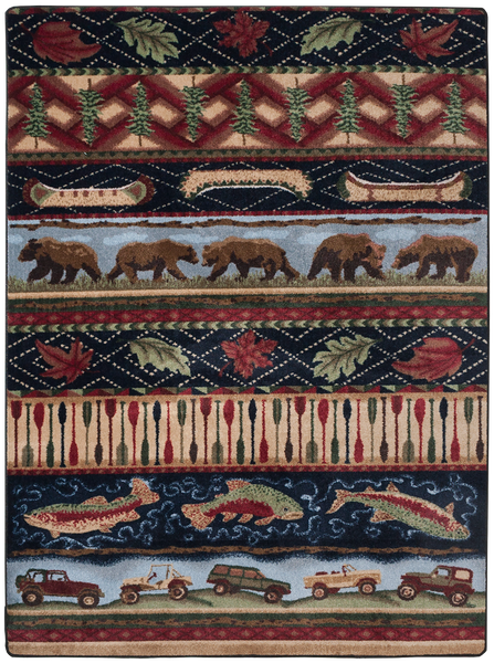 American Dakota Wilderness Trek Area Rug