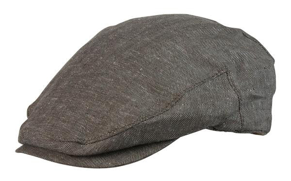 Conner Handmade Hats: Bashford Newsboy Cap Cotton and Linen