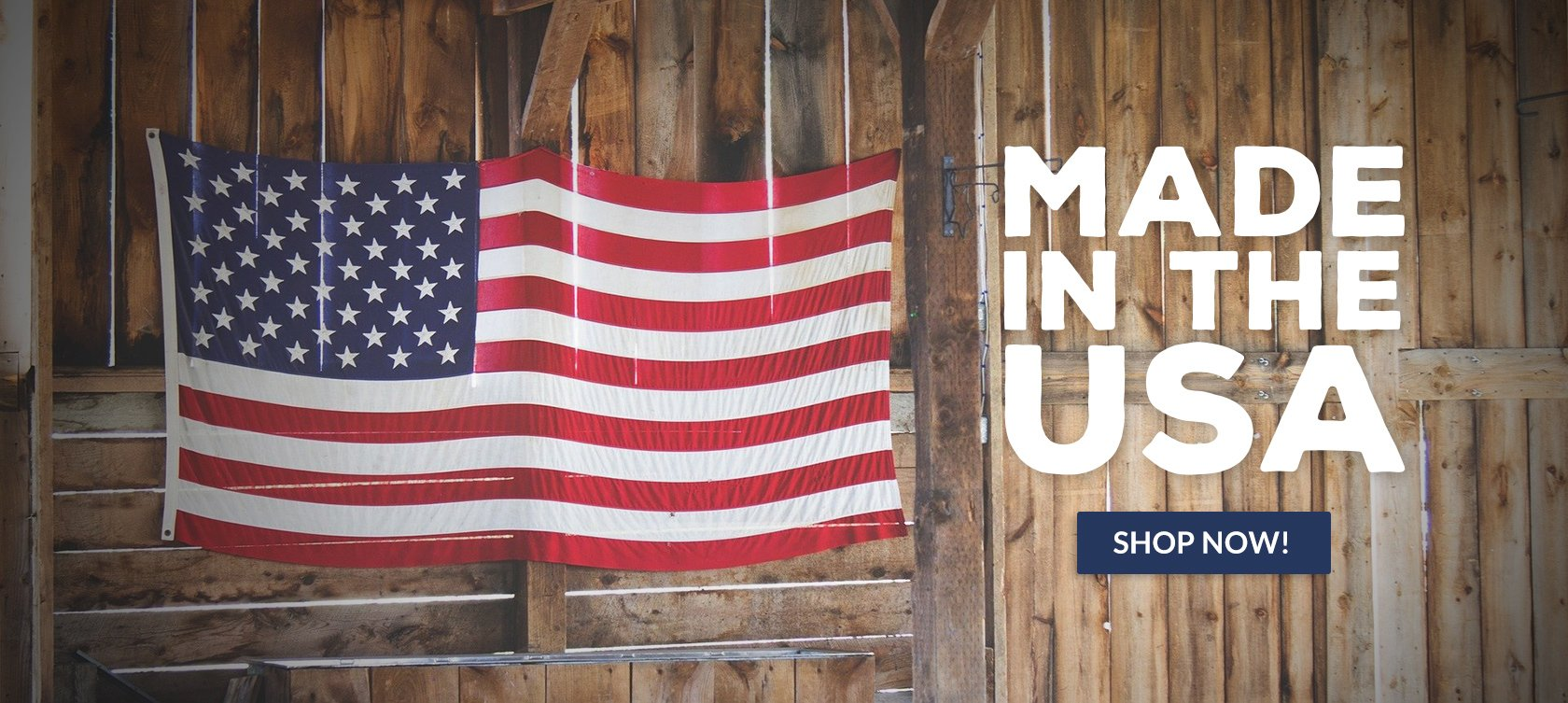 Choose from a wide variety of merchandise For Her, For Him, and For Home all Made In The USA.