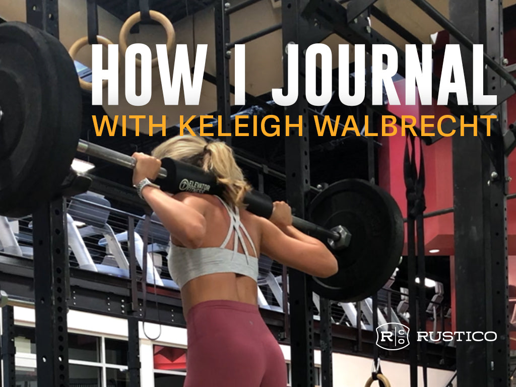 How I Journal with Keleigh Walbrecht