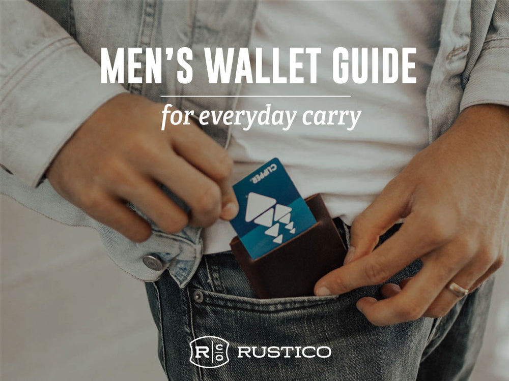 Guide to our Men's Wallets