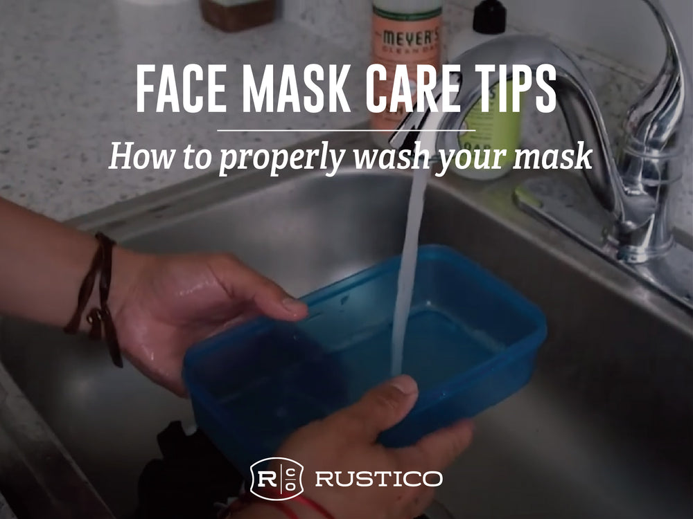 How to Wash Your Face Mask