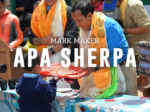 Mark Maker Apa Sherpa