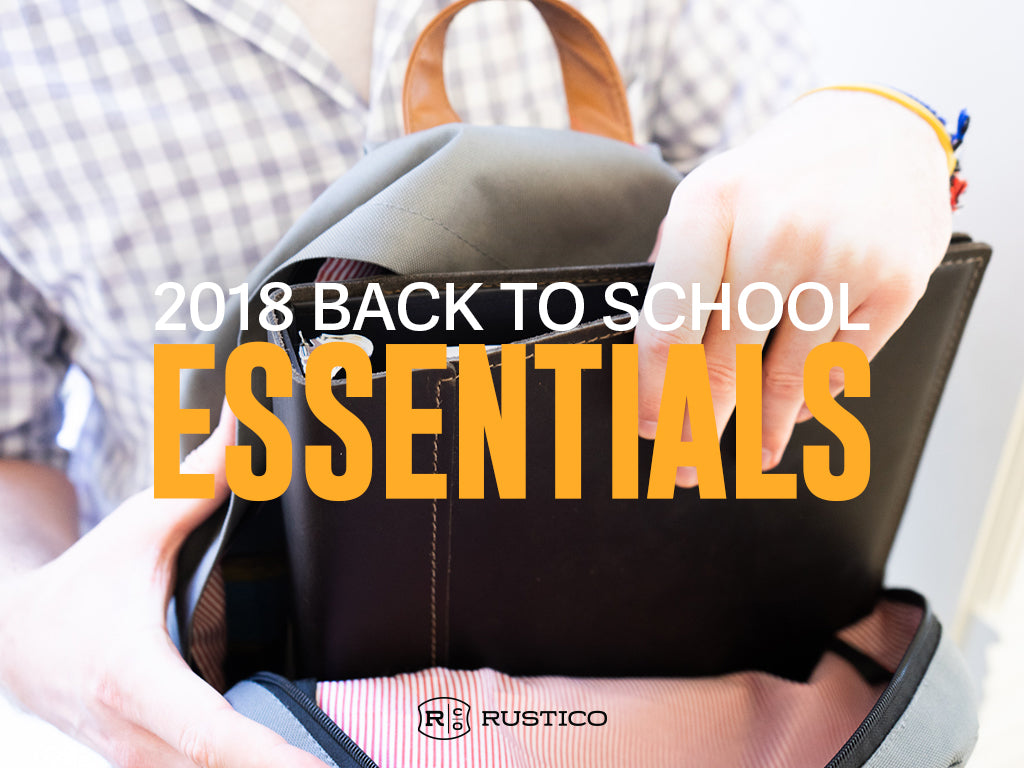 2018 Back To School Essentials