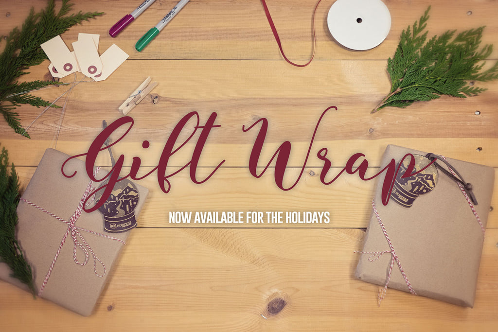 2017 Holiday Gift Wrapping (with new limited edition ornament)