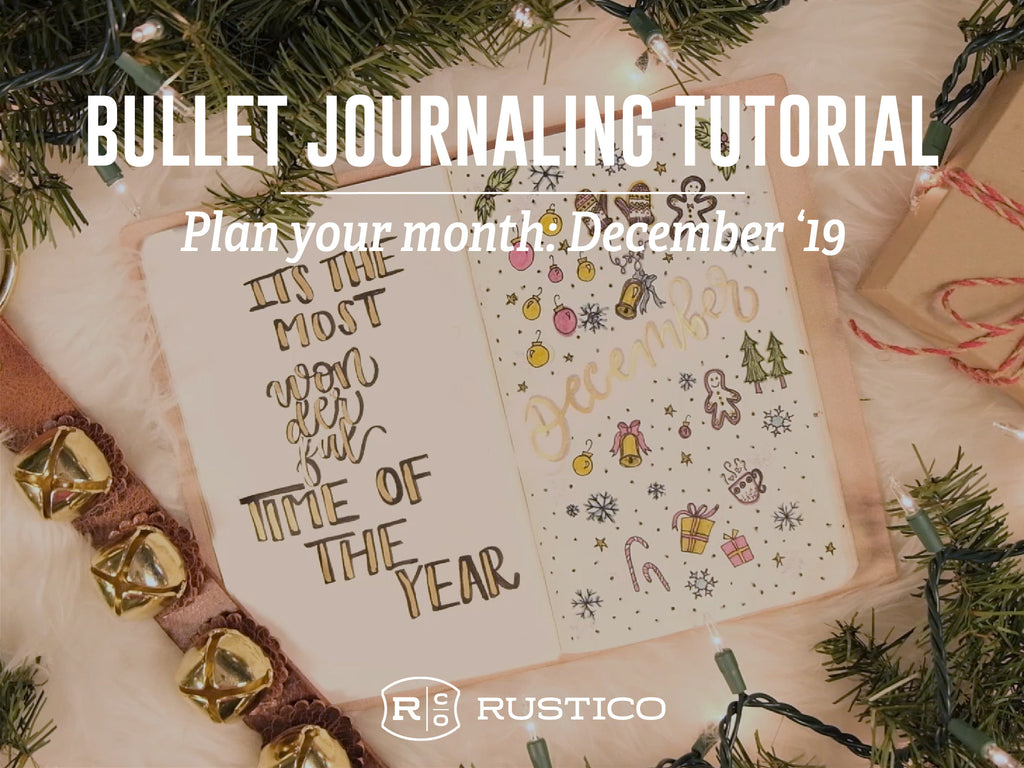 Bullet Journaling Tutorial: Plan Your Month
