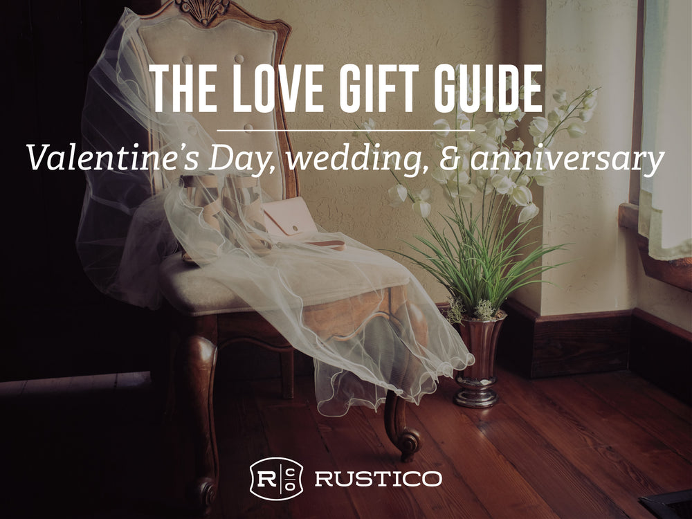Leather Gifts for Valentine's Day, Weddings, and Anniversaries