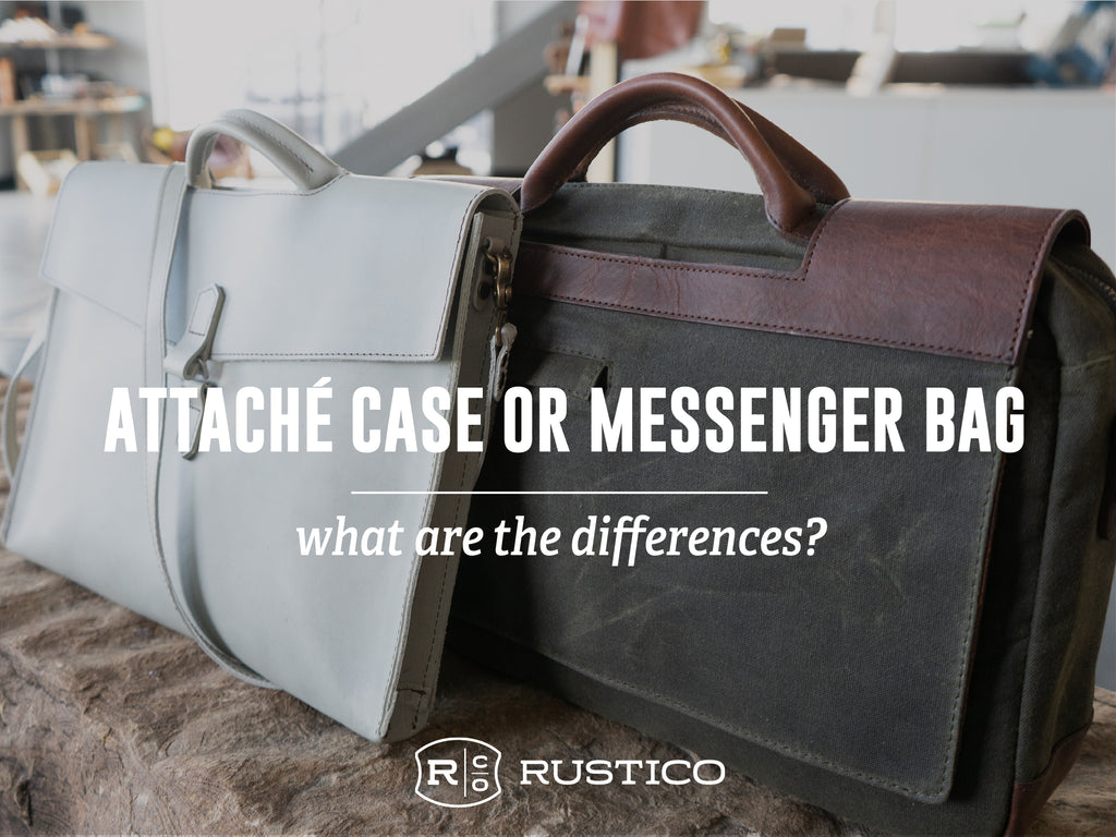 Attaché Case or Messenger Bag