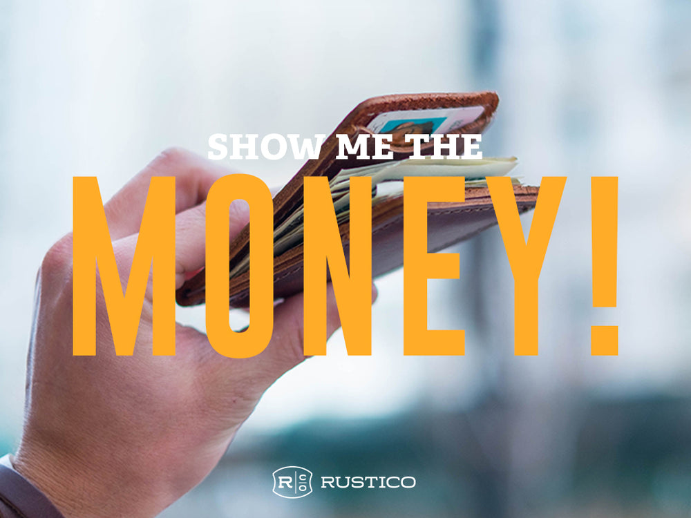 The Backstory Series : Money Clip Leather Wallet