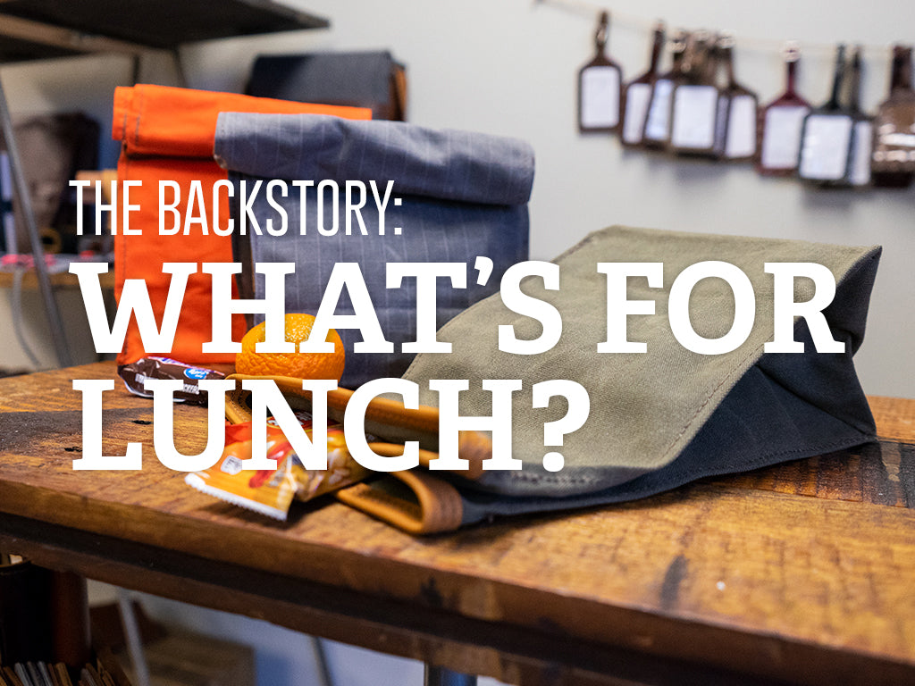 The Backstory Series : Dispatch Lunch Bag