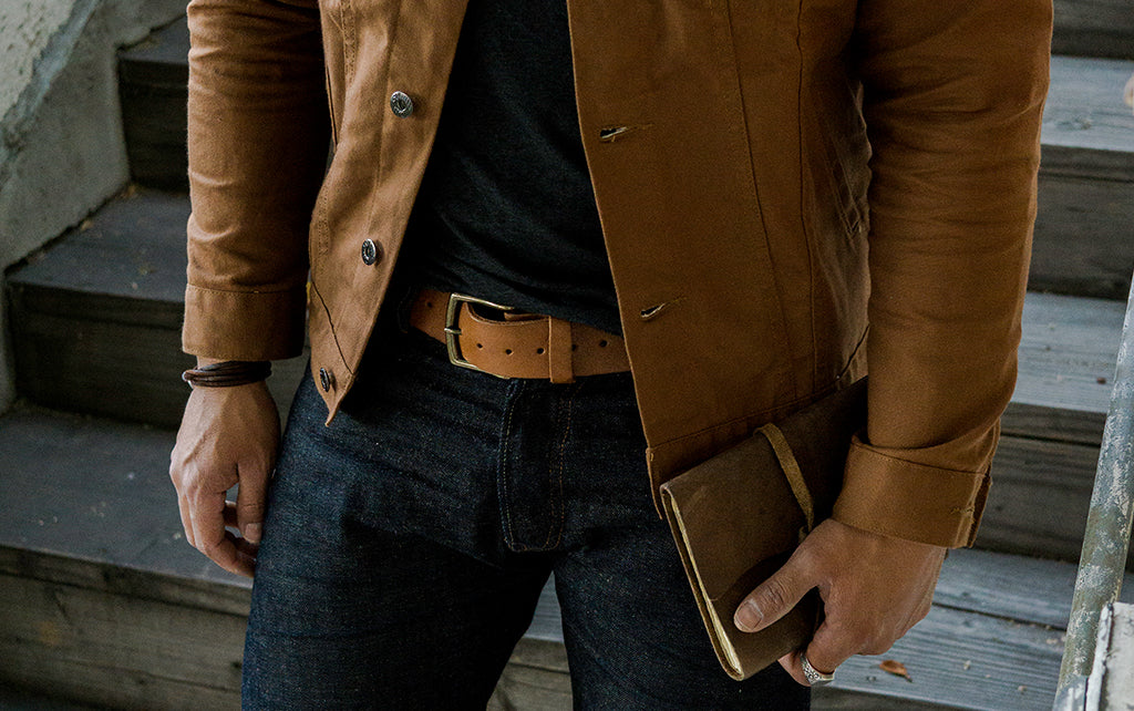 leather belt rustico mens