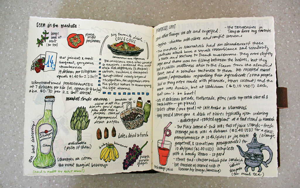 cook book journal