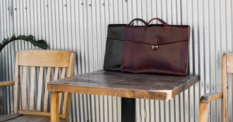 Leather Attache