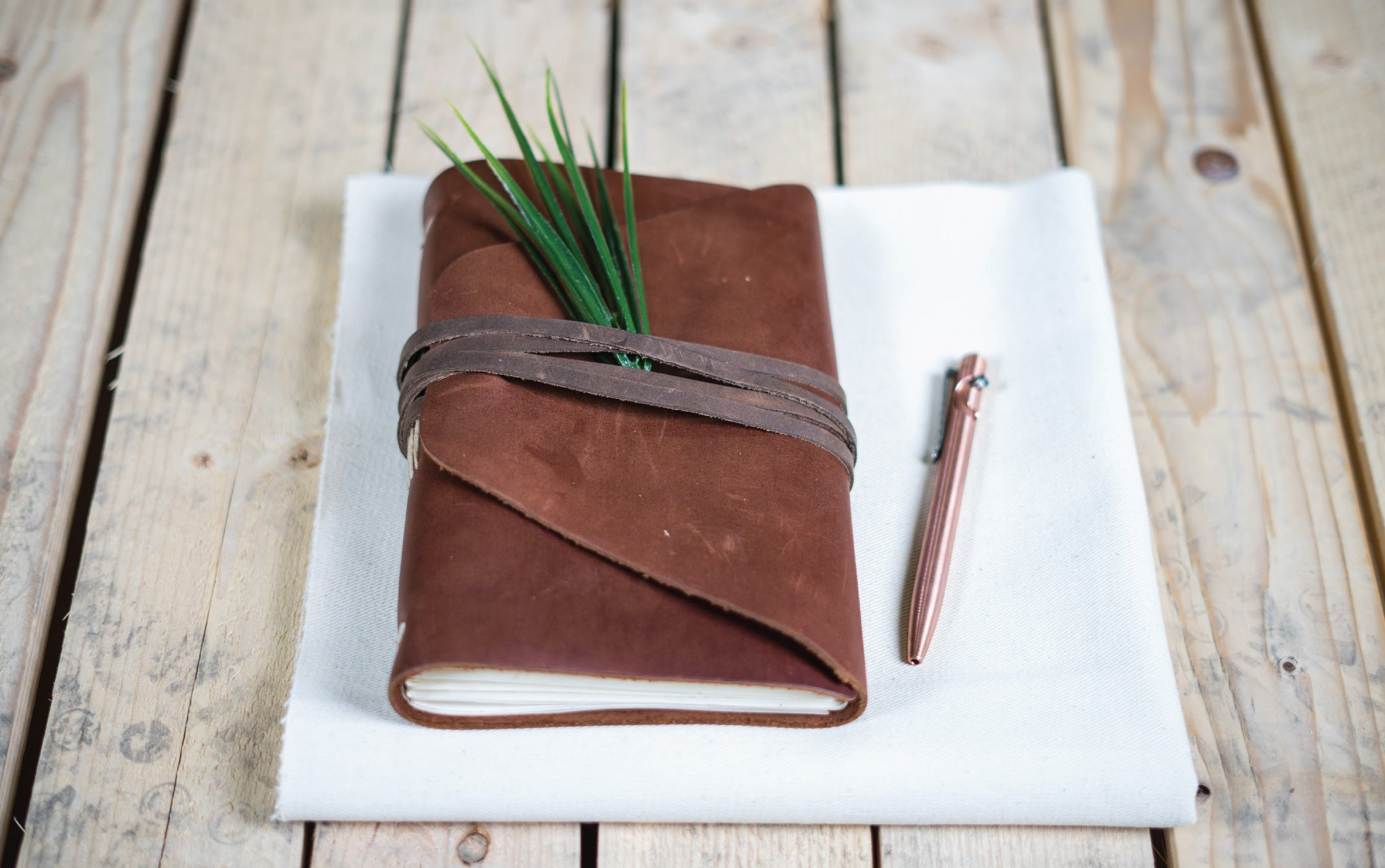 Leather handmade journal