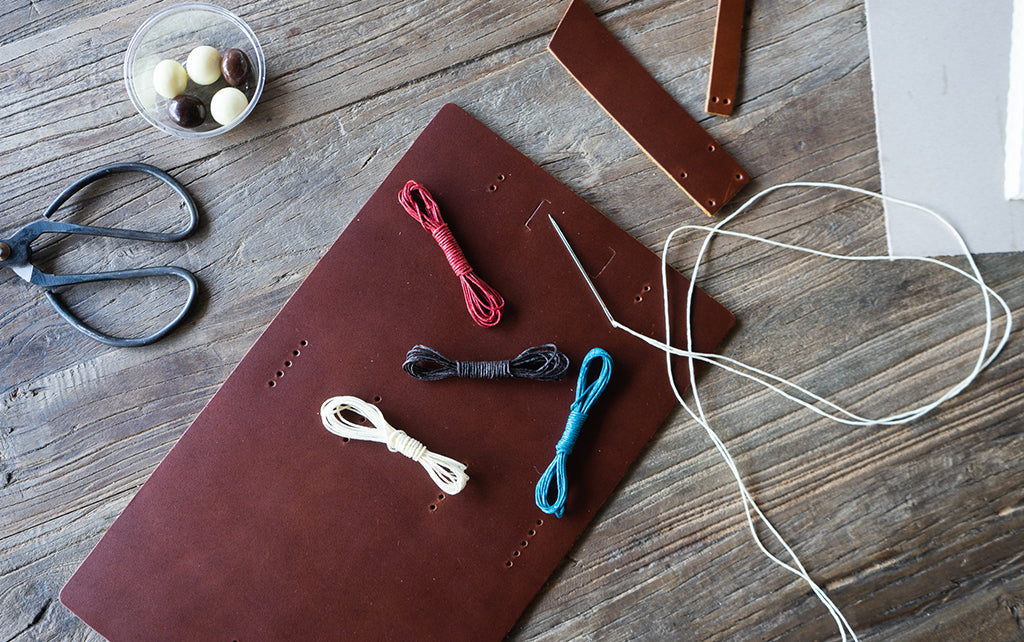 Do it yourself leather journal