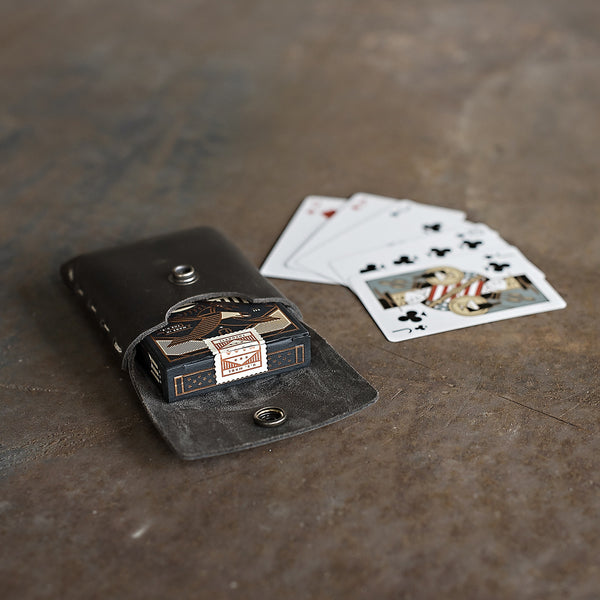 home office archaic built case. This Case Is Custom Built To Standard Tuck Box Dimensions Ensuring A Snug Fit And Reinforced With Hand-sewn Waxed Linen. Protect Your Favorite Playing Cards Home Office Archaic M