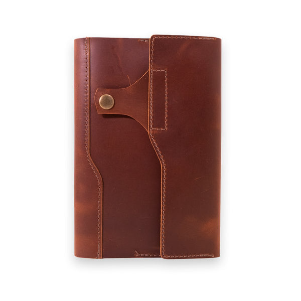 Maverick Leather Log Cover