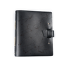 Zodiac Night Sky Leather Journal - Black