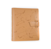Zodiac Night Sky Leather Journal - Buckskin