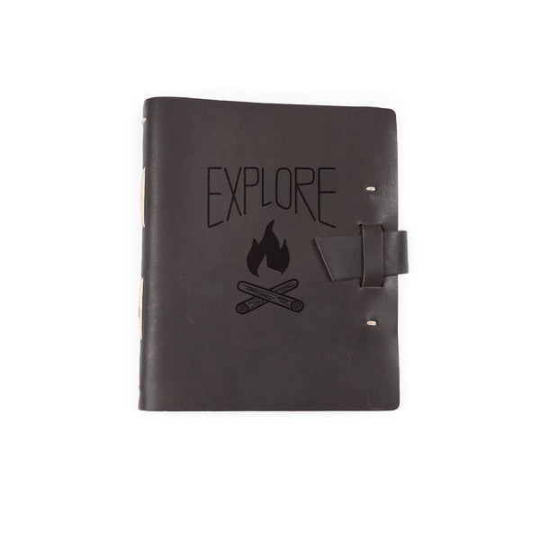 Explore Traveler Leather Journal