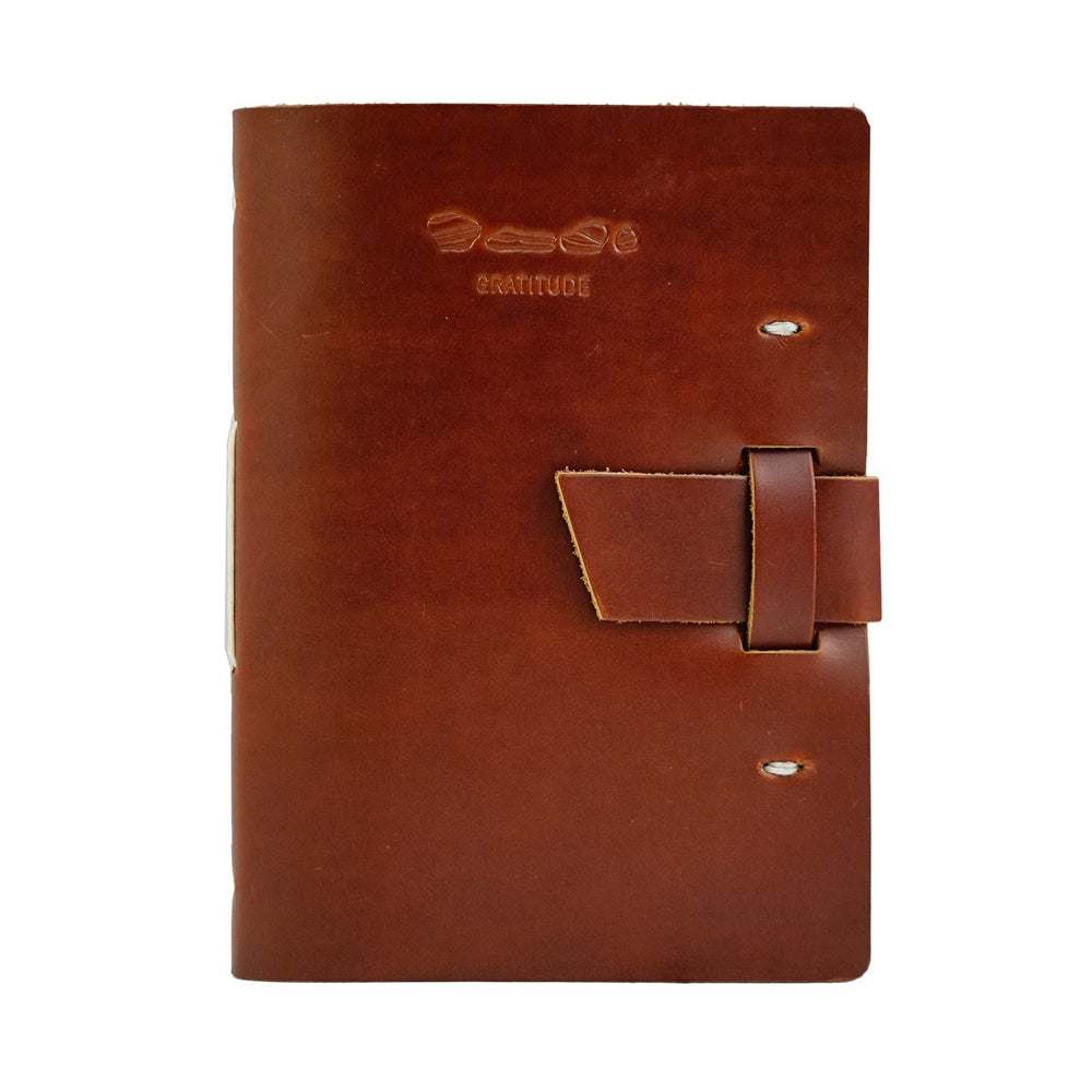 Leather Gratitude Journal